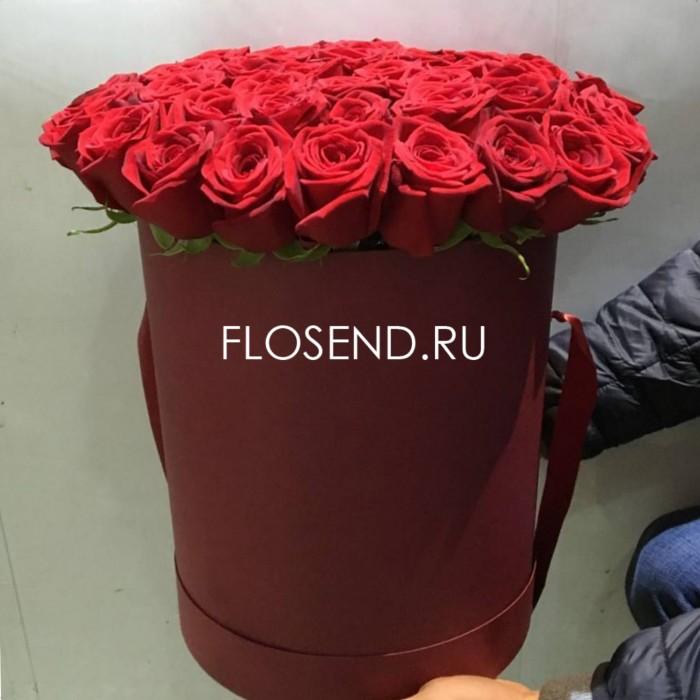 Цветы в коробке № 235