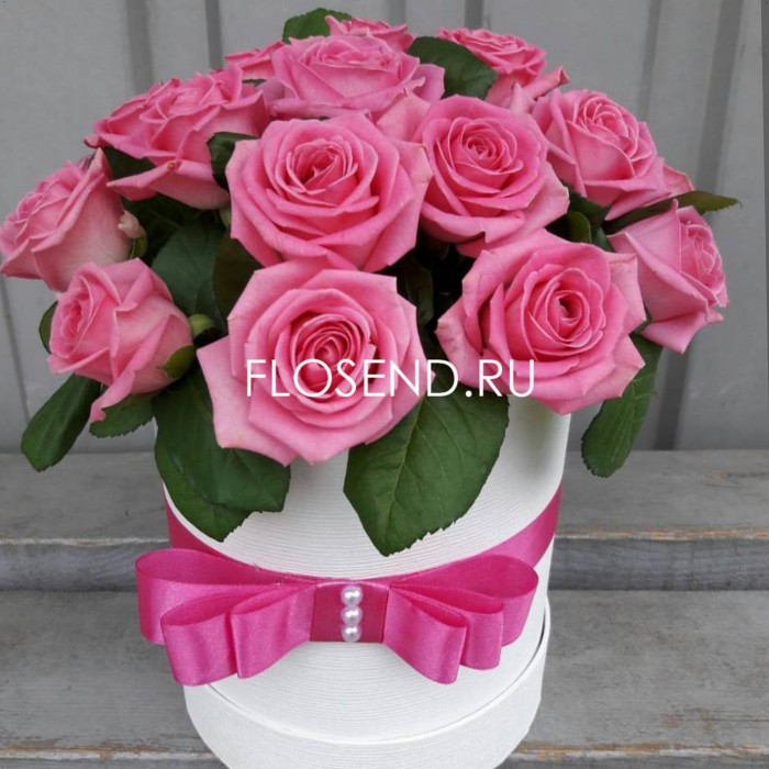 Цветы в коробке № 232